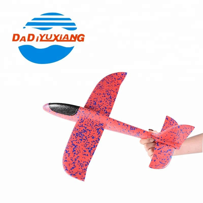 Hand throwing stunts foam flying toy glider plane for sale