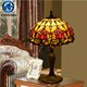 Small Size Bedside Lamps Table art home decorative night light fancy design glass lamp in china