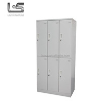Tianjin Delicate Appearance Low Price 6 Door Wardrobe
