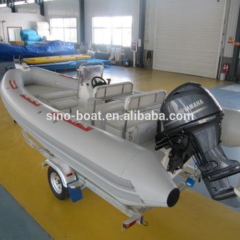 ecf185b27ad 18ft Fiberglass Hull Pvc Rib Boat For Water-sighting,Patrolling ...