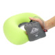 colorful air self inflating traveling hiking sleeping neck pillow