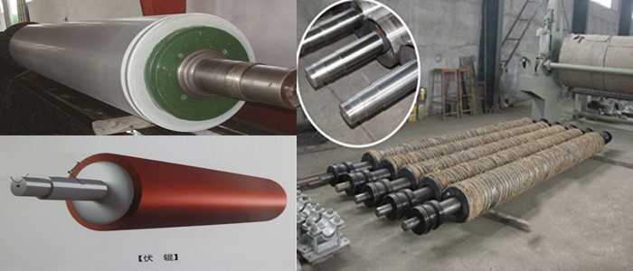 copy paper processing machinery roll