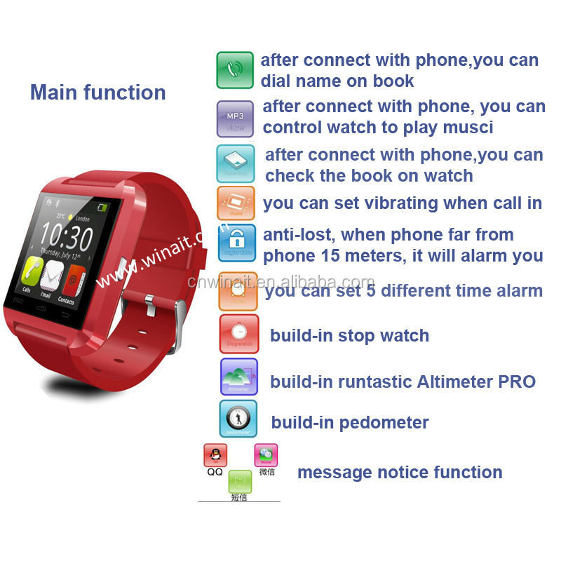 e5046335239f Wt-60 2.0m Camera Wifi Gps Android 4.0.4 Gsm Smart Watch Phone Z1 ...