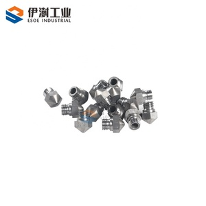 new technology develop carbide nozzle new hole YG8 tungsten carbide 3D printer nozzle with long lifetime