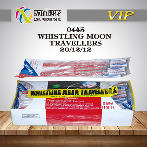 0445 WHISTLING MOON TRAVELLERS UN0336 TOY SAFE HIGH QUALITY OUTDOOR SKY USE LIUYANG GLOBAL CONSUMER FIREWORKS