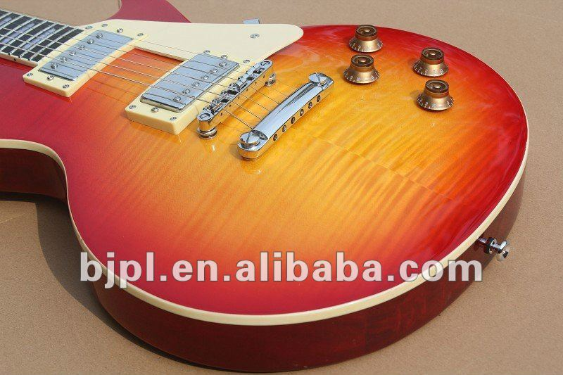 Wholesale and retail -2012 New arrival custom color model Electric Guitar