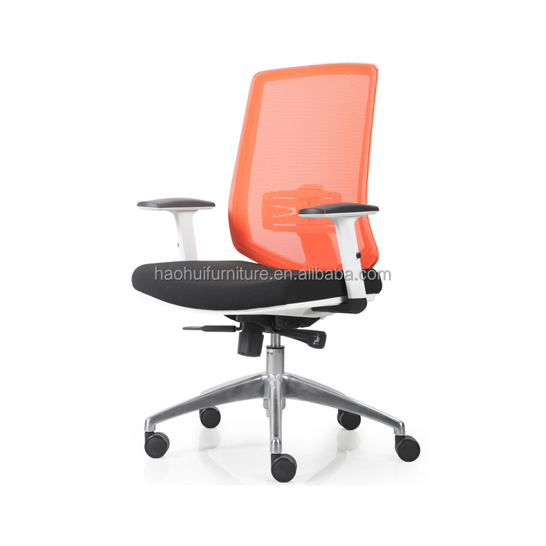 Comfortable Reclining Chair/Black Mesh Office Chair For Computer Desk/Chair With Armrest