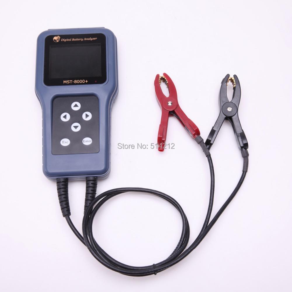 Новый MST-8000 авто анализатор SC-100 для автомобильного аккумулятора тестирования