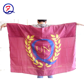 UN Flag Cape body flag