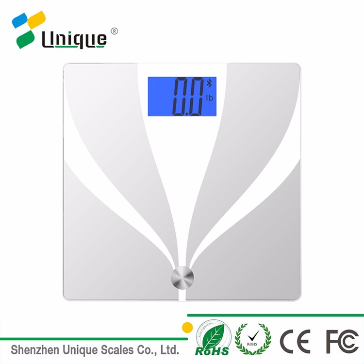 Bluetooth bmi digital calculator electronic body fat scale with memory