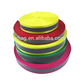 Luminous Clear Plain Nylon Webbing With Reflective Strap/Nylon Tape