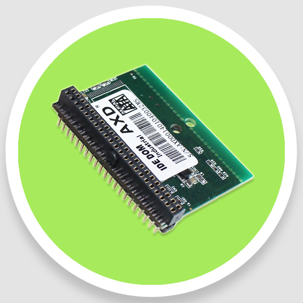 Wide Temp 4GB IDE DOM FDM 44 PIN Horizontal