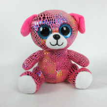 Design best hot sale plush durable dog toy with big eyes
