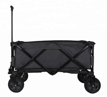 Marvelous Collapsible Folding Outdoor Utility Wagon, Heavy Duty Garden Cart For  Shopping Beach Outdoors