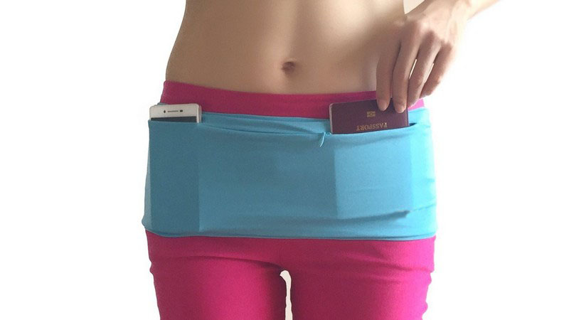 Outdoor super sport waist bag belt, running waist flip belt