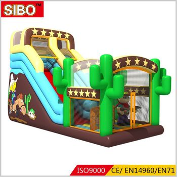 Attractive commercial inflatable cheap children slides indoor slide for sale
