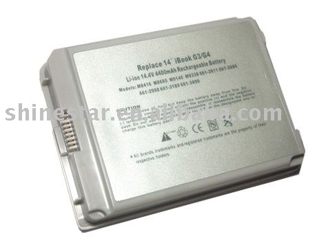 original Laptop Battery pack for ibook G3/G4 14""
