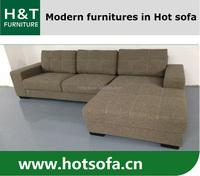 Loveseat fabric sofa L shape linen sofa