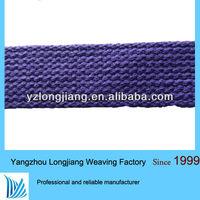 1 inch cotton webbing/striped cotton webbing