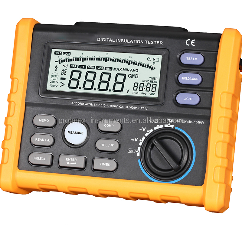 Digital Insulation Resistance Tester For Megger