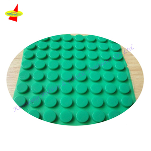 Custom Color Different Shapes Anti-Slip Silicone 3M Bumpons Adhesive Rubber Dots