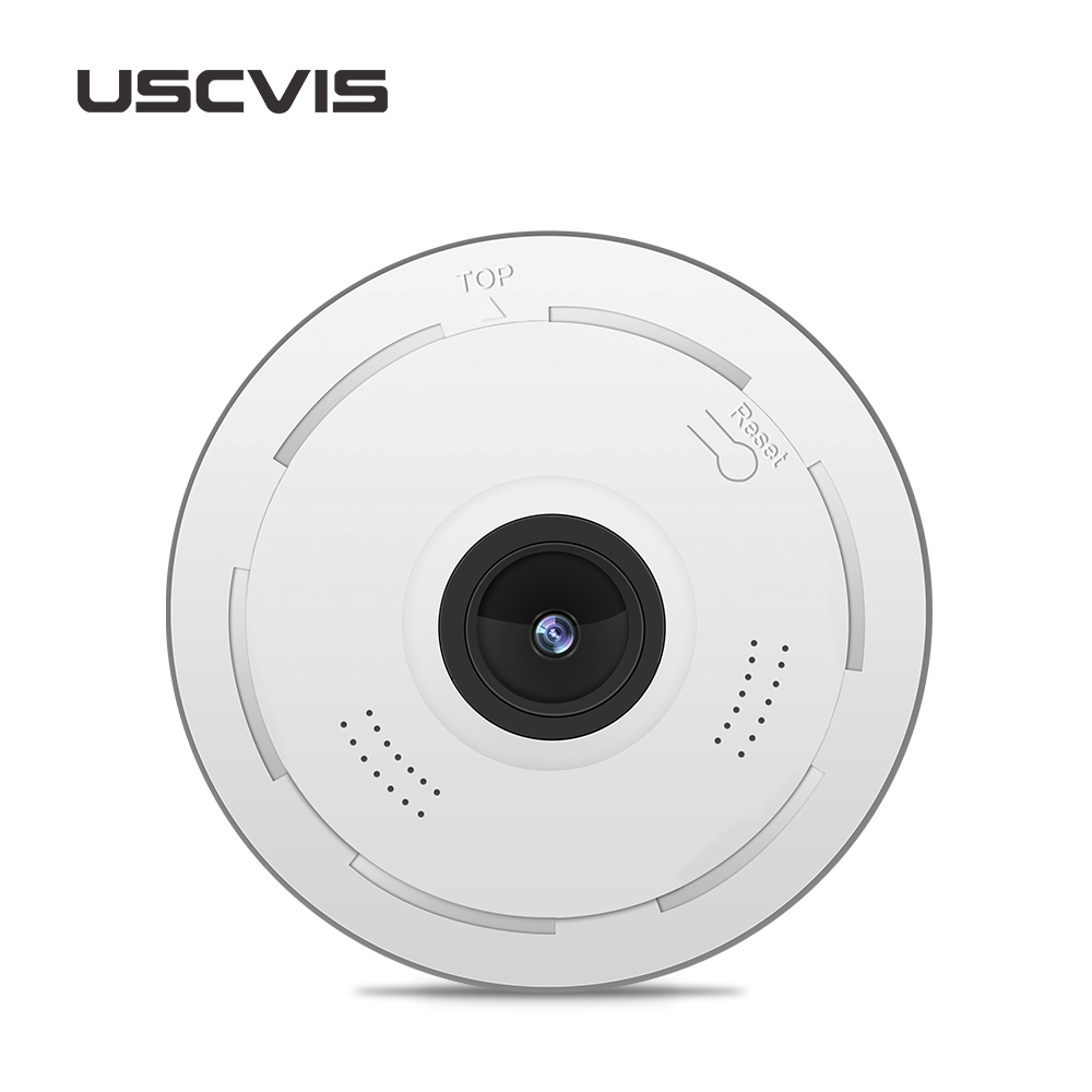 usc 360 degree HD Panoramic 2MP wireless p2p wifi ip camera