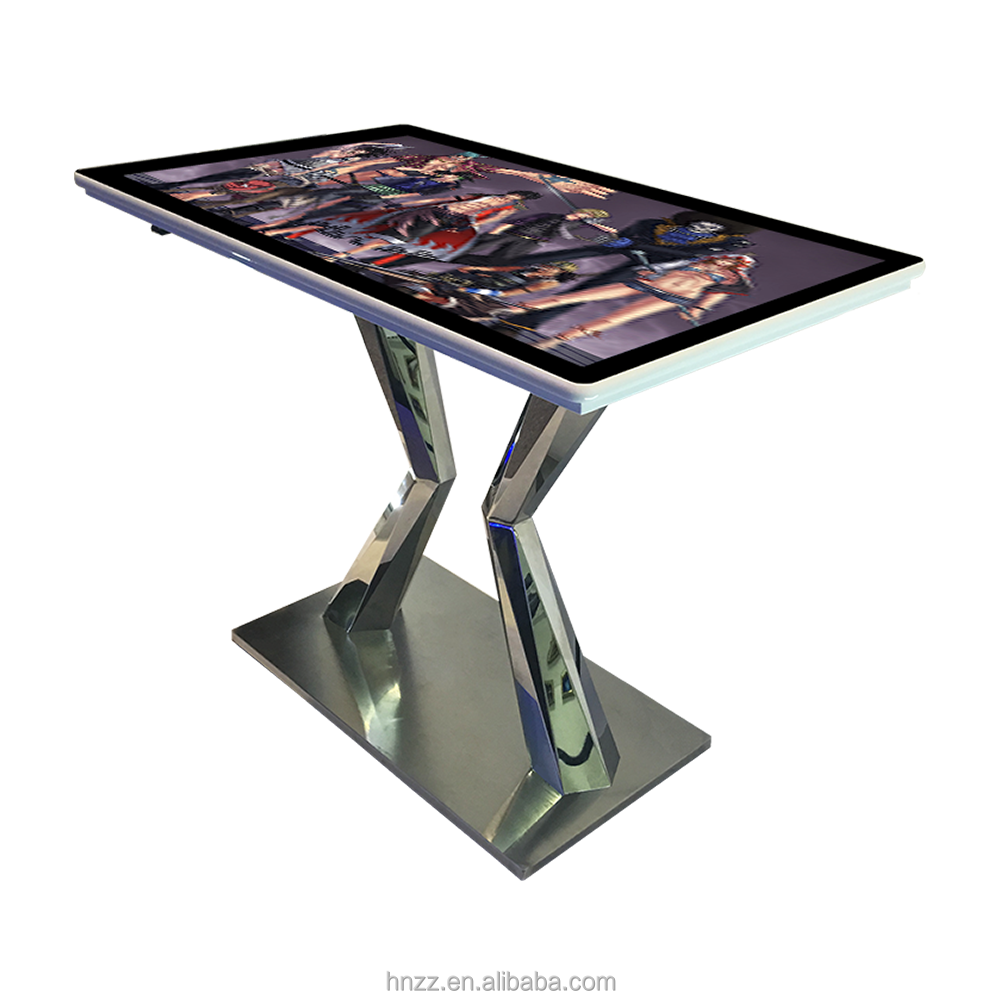 42 inch 10 points wifi touchscreen table kiosk