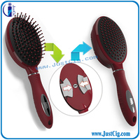 High quality Mini smart comb self cleaning hair brush with best price
