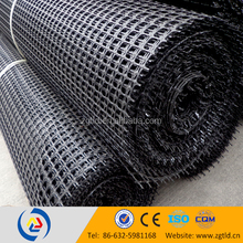 tensile strength 50 KN/M polypropylene /PP biaxial geogrid improve long-term performance in road construction