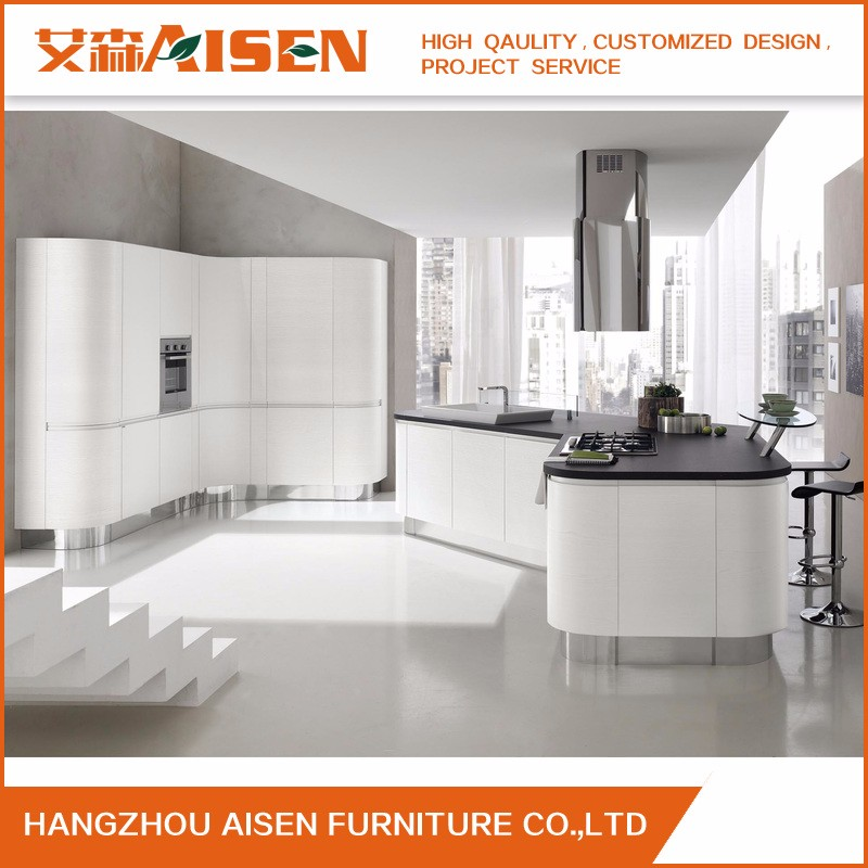 Hangzhou 10 Years Quality Craftsman Custom Made Kitchen Cabinet Furniture