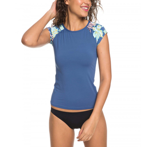 Best-Selling New Product custom printed uv women quick-dry rash guard