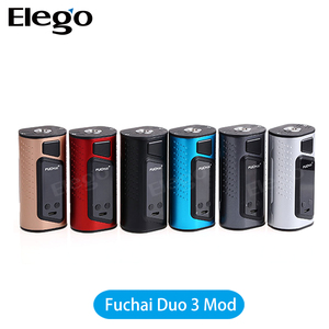Hot Selling 2017 Original Sigelei Fuchai Duo 3 Mod newest Sigelei Duo 3 Electronic Cigarette