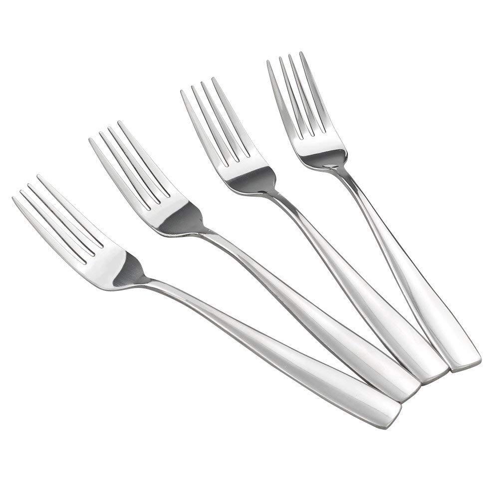 HOMMP 16-Piece Stainless Steel Salad Forks, Dessert Forks