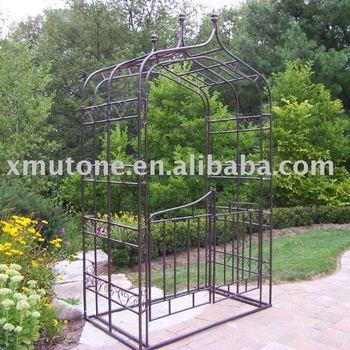Metal Garden Arbor