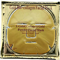 Private Label 24k Gold Collagen Facial Sheet Mask