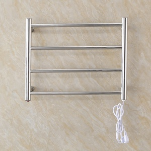 Wall Mounted Four Bars Electric Towel Warmer Heated Towel Rails