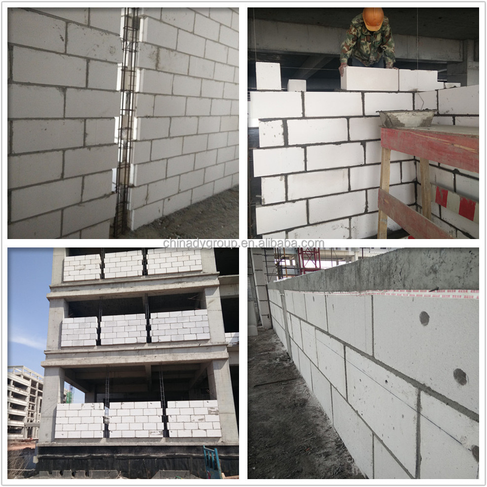 Australia Standard Autoclaved Aerated Concrete Aac Blocks