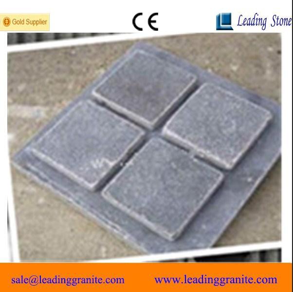 Factory sawn & tumbled grey limestone color outdoor paving