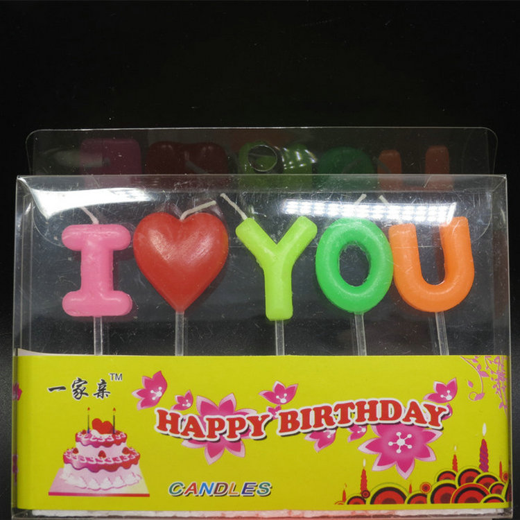 Professional customized musical rose candle for birthday party for sale
