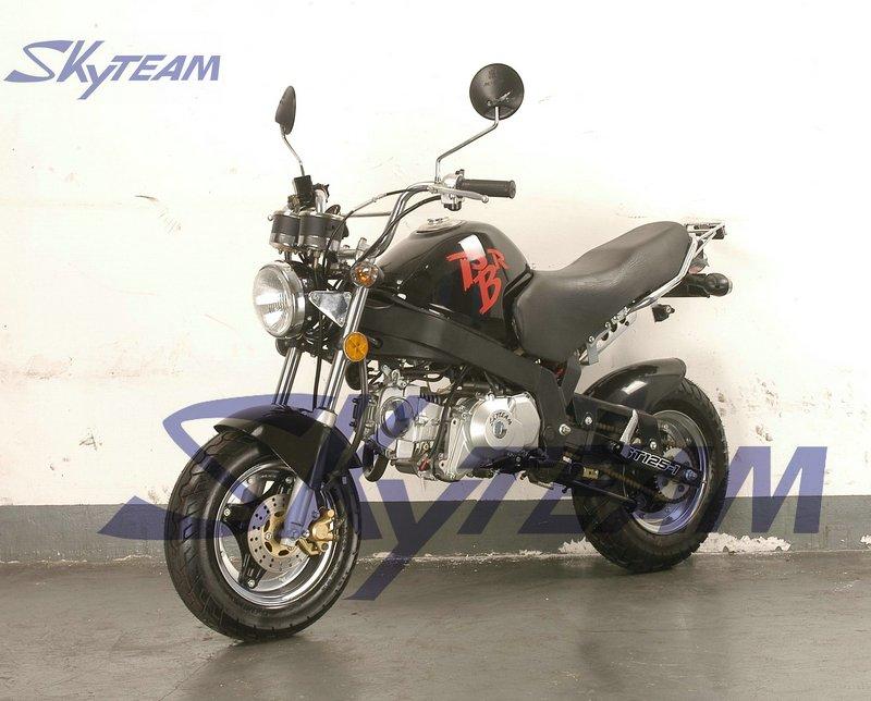 skyteam 125cc 4 takt pbr zb50 ksr stijl aap fiets eeg. Black Bedroom Furniture Sets. Home Design Ideas