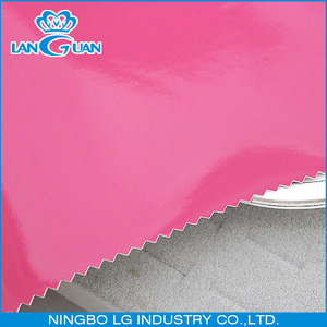 Anti-resistant Mirror Face pu synthetic leather for bags
