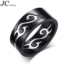 Large stock Wholesale Fashion 316l Stainless Steel Ring Jewelry for man