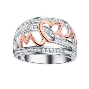 New Arrivals 2019 Retro LOVE Silver Ring unique design rose gold Rings jewelry women wholesale