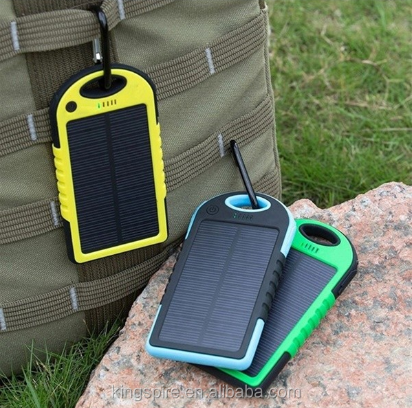 Universal <strong>Portable</strong> Charging Solar Cell Power Bank 50000mah Solar Powered Power Bank