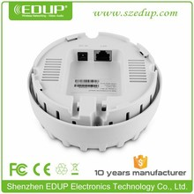 High Power 300Mbps 2.4G indoor POE Wifi Ceiling AP For Hotel
