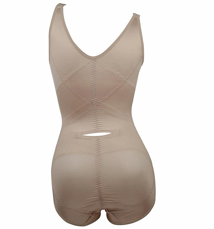 Женщины леди сексуальный Bodywear боди перед молния и пряжка приталенный женское бельё корсеты промежность пряжка нижнее белье