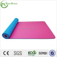 Zhensheng new design own patent tpe yoga mat -soft ,comfort ,healthy
