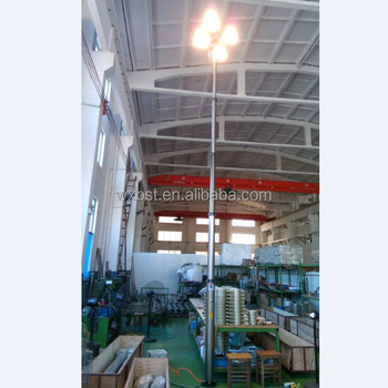 Portable Floodlighting Tower Gasoline Generator Lighting Mast Product On Alibaba
