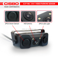 3-in-1 C716 Cisbo Video Parking Sensor,Car Rearview Systems For ...
