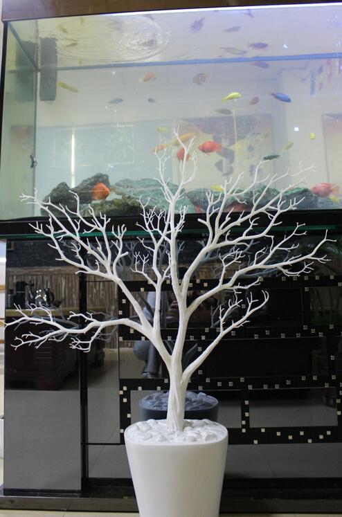 Int rieur de la maison d corative arbre artificiel pour le for Arbre artificiel pour interieur